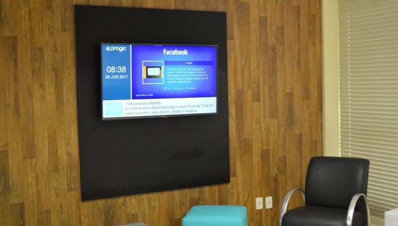 redes sociais na tv corporativa