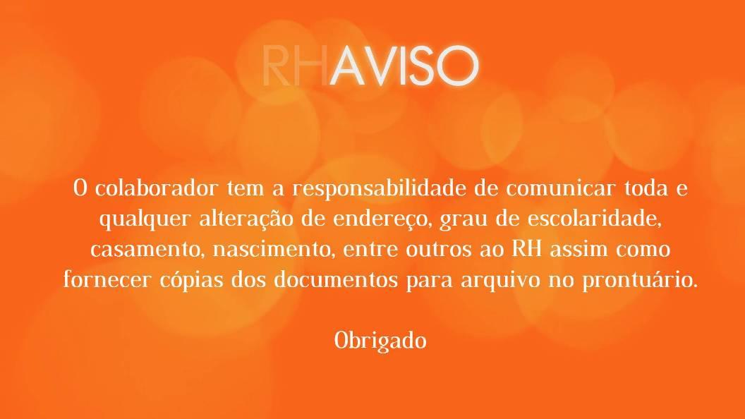 Comunicado rh