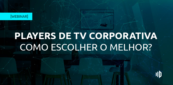 webinar players para tv corporativa