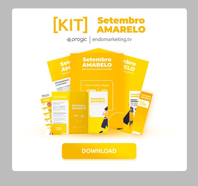 Setembro Amarelo Nas Empresas Ações Kit De Materiais